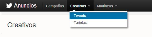 Anuncios Twitter
